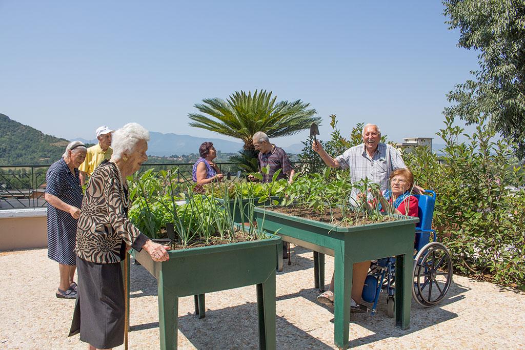 Villa Algisa Orto terapia